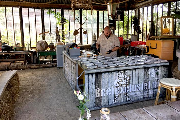 BBQ catering, bedrijfsfeest, jubileum